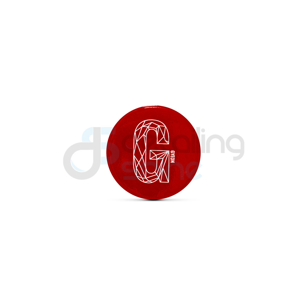 GYEON Plastic Badge Red G