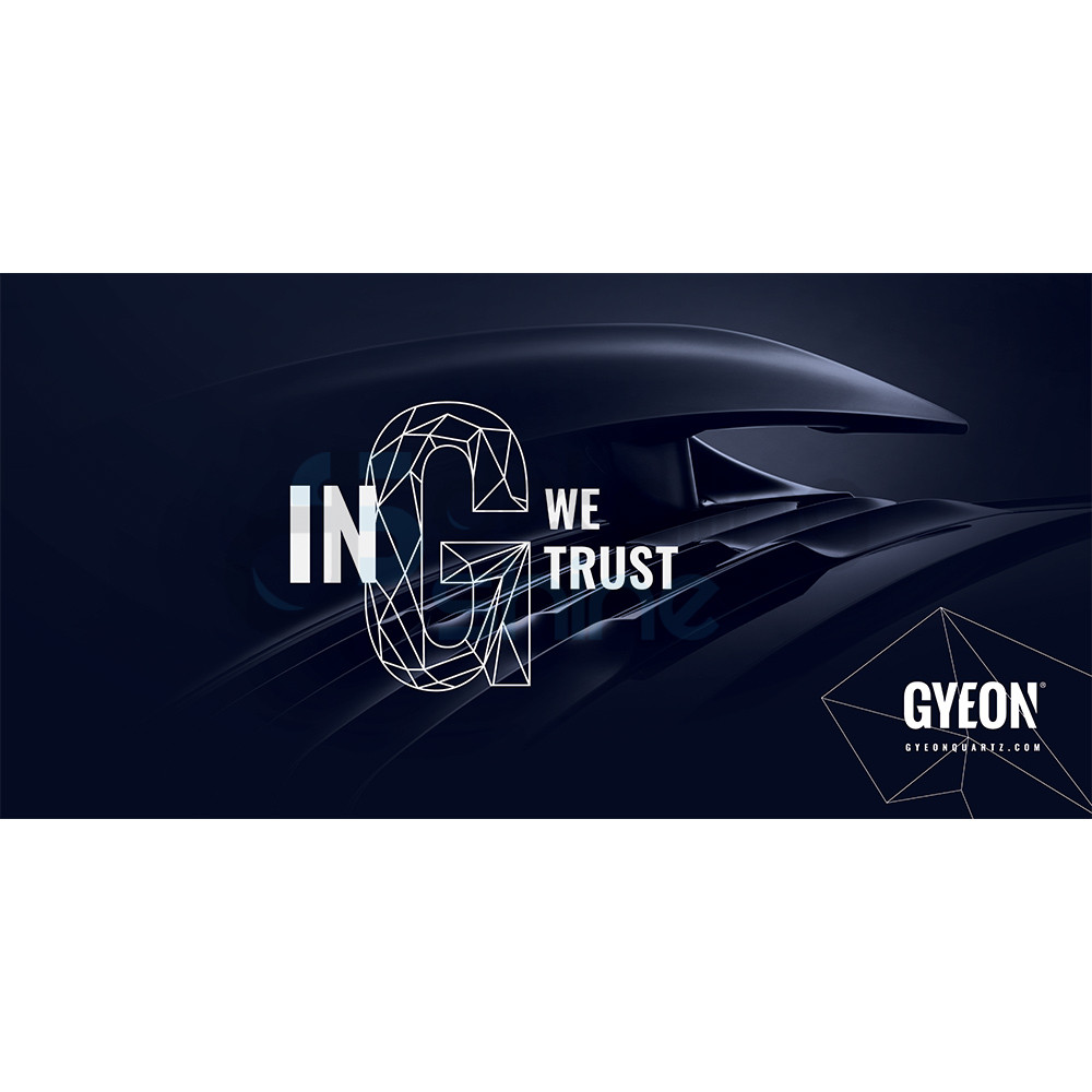 GYEON Canvas Banner 200x100 / In G we trust