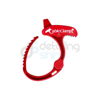 CABLE CLAMP Rouge/Blanc Medium
