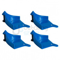 DETAIL GUARDZ- Hose Guide - Bleu x4