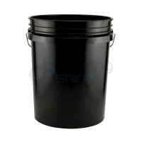 GRIT GUARD Bucket - Black