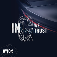 GYEON Canvas Banner 100x100 / In G we trust / Taillight