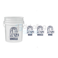 GYEON Wash Bucket Stickers